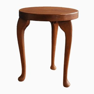Vintage Queen Anne Stool with Legs