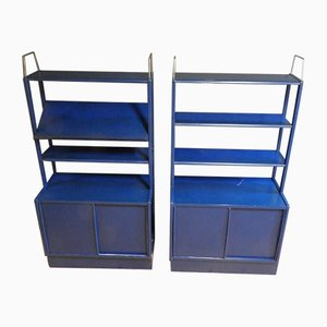 Swedish Vintage Bookcases by B. Fridhagen for Bodafors, Set of 2