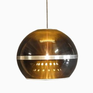 Dijkstra The Globe Space Age Hanging Lamps, 1960s, Set of 2