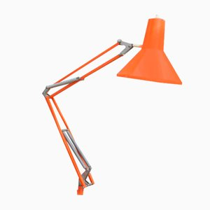 Lampe Orange Vintage