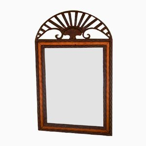 Mirror with Cast Iron Frame