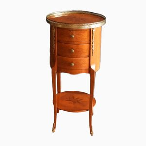 Table d'Appoint Style Louis XIV en Acajou