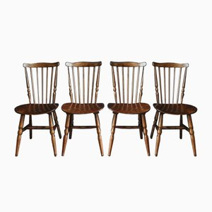 French Handmade Chairs from Bordeauxs, Set of 4