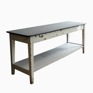 Vintage French Side Table with Formica Sheets