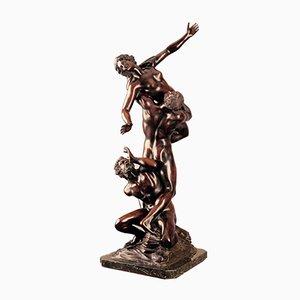 Entführung der Sabine Woman, Bronze Statue