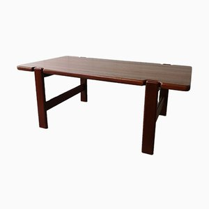 Vintage Danish Teak Coffee Table by Niels Bach, 1970