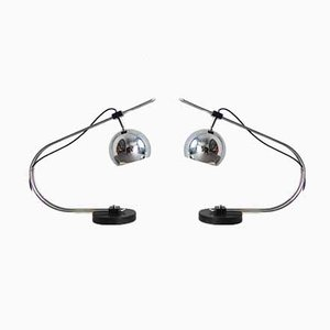 Eyeball Table Lamps from Reggiani, 1970s, Set of 2