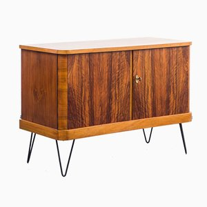 Caucasian Walnut Chest of Drawers, 1950s
