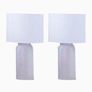 Table Lamps by Thorkild Olsen for Royal Copenhagen, 1960s, Set of 2