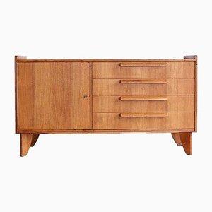 French Modernist Oak Sideboard, 1950s