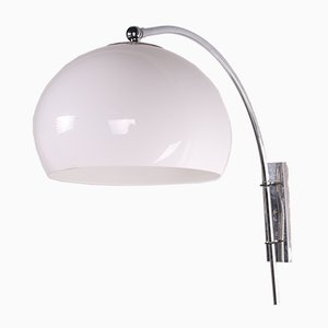 Vintage Space Age Arc Wall Lamp from Dijkstra Lampen, 1960s
