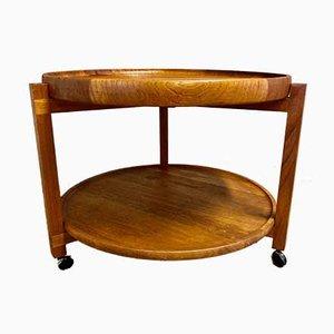 Scandinavian Modular Side Table, 1950s