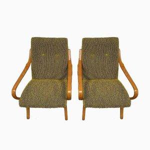 Armchairs by Jaroslav Smidek for TON, 1960s, Set of 2
