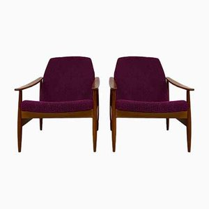 Lumberjack Armchairs from Drevotvar Jablonne nad Orlici, 1960s, Set of 2