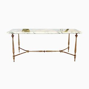 Jansen Style Marble Coffee Table, 1960s