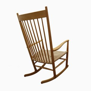 J16 Rocking Chair by Hans Wegner for Fredericia, Denmark, 1977