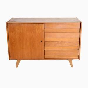 Mid-Century Czech U-458 Chest of Drawers by Jiří Jiroutek for Interier Praha, 1960s