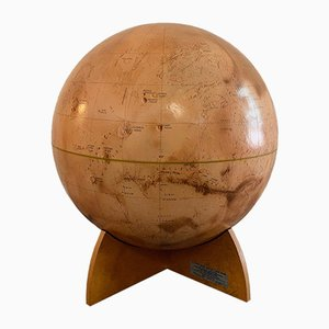 Mars Globe from Denoyer Geppert, 1973