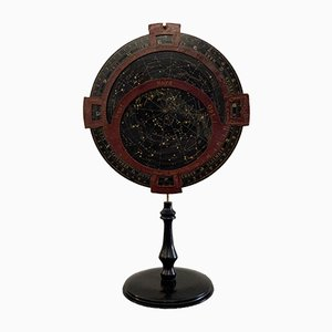 Antique Rotating Celestial Map by Adolf Mang