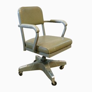 Mid-Century American Industrial Steno Desk Chair by Craig McDowell, 1960s