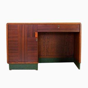 Niederländischer Art Deco Schreibtisch, 1940er