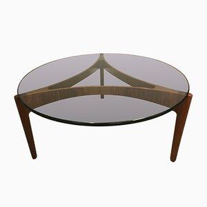 Rosewood Coffee Table by Sven Ellekaer for Christian Linneberg, 1962