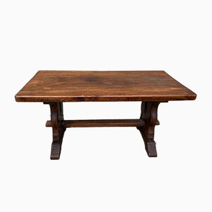 Large Oak Coffee Table, 1950s
