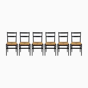 Leggera Chairs by Gio Ponti for Cassina, Milan, 1960s, Set of 6