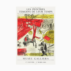 Expo 63 - Musée Galliéra secondo Marc Chagall