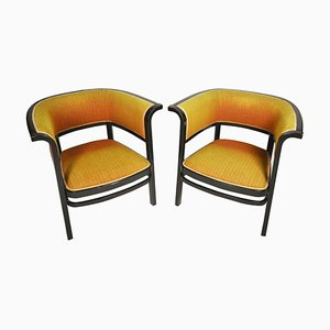 Vienna Secession Thonet No. 6534 Armchairs by Marcel Kammerer, 1910s, Set of 2