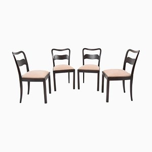 Chairs by Jindrich Halabala, 1940s, Set of 4