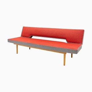 Adjustable Sofa Bench by Miroslav Navrátil, 1960s, Czechoslovakia