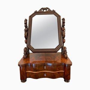 19th Century Victorian Mahogany Swing Mirror