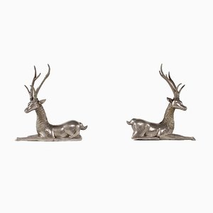 Temple Deer Figures, Set of 2
