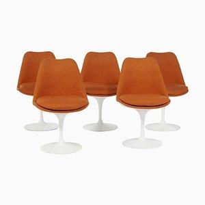 Tulip Chairs by Eero Saarinen for Knoll, Set of 5