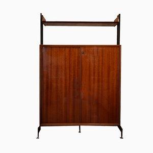 Mueble italiano de caoba, años 50