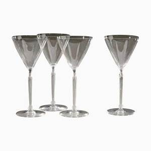 Clos Sainte-odile Glasses by René Lalique, Set of 4