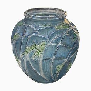 Grasshoppers Vase by René Lalique