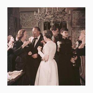 Audrey Hepburn Party, Slim Aarons, Limited Estate Print, 1955