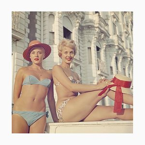 Slim Aarons, Cannes Cannes Girls, Limited Estate Druck, 1958