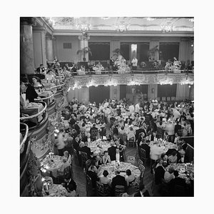 Luxury Dining, Limited Edition Estate Stamped Silver Gelatin Fibre Print, 1955, Printed Later