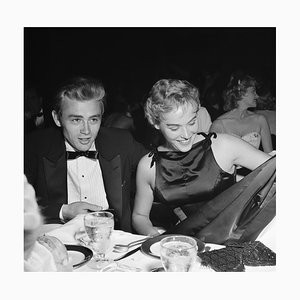 Stampa James Dean e Ursula Andress, argento, 1955, Printed Later