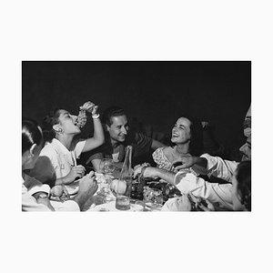 Italienische Party, Silbergelatine Kunstdruck, 1949
