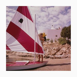 Slim Aarons, Bettina Graziani, Limited Edition Estate Stamped Print, 1964, Printed Later