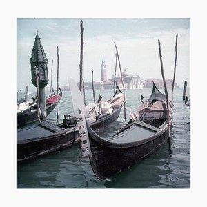 Venezianische Gondeln, Limited Estate Stamped, 1957