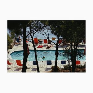 Hotel Il Pellicano, Porto Ercole, Slim Aarons, Color Photography, 1973