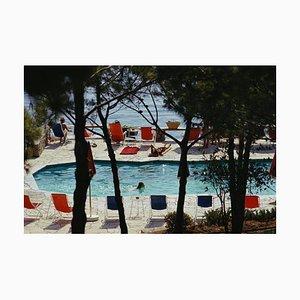 Hotel Il Pellicano, Porto Ercole, Slim Aarons, Farbfotografie, 1973