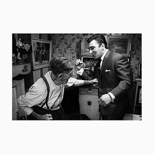 Reggie Kray & Grandfather, London, Signed Limited Edition, 1967