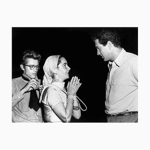 James Dean, Elizabeth Taylor & Rock Hudson, 1956