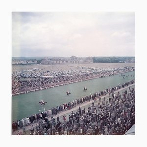 Hippodrome de Chantilly, Extra Large Estate Printed Stamped, 1956/2020